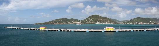 Philipsburg, Sint Maarten, Caribbean Stock Photo
