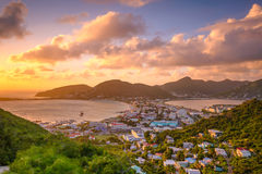 Philipsburg, Sint Maarten stock photography