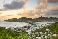 Philipsburg, Sint Maarten Royalty Free Stock Photos
