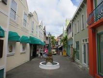 Philipsburg, Sint Maarten. Philipsburg main tourist area, Sint Maarten Royalty Free Stock Photo