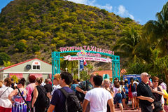 Philipsburg, St. Maarten Stock Photo