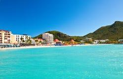 Philipsburg, St Maarten Photo libre de droits
