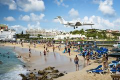 Philispburg, Sint Maarten, Dutch Antilhas Imagens de Stock