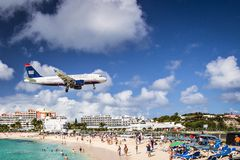 Philispburg, Sint Maarten, Dutch Antilles Stock Image