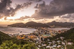 Philispburg, Sint Maarten, Dutch Antilles Stock Photography