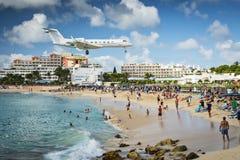 Philispburg, Sint Maarten, holandés Antillas Foto de archivo libre de regalías