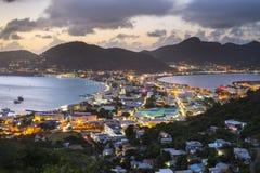 Philispburg, Sint Maarten, olandese Antille Immagini Stock Libere da Diritti