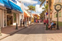 Philispburg, St. Maarten Стоковое Изображение