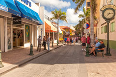 Philispburg, St. Maarten Stock Image