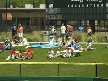 Phillies, avant saison de pirates   Photographie stock