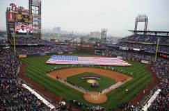 Phillies Opening Day Royalty Free Stock Photo