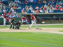 Phillies, Pirates preseason 670 Stock Photography