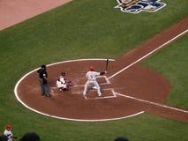 Phillies Ryan Howard tiene il blocco nell'aria Immagine Stock