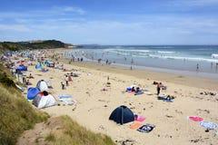 """Phillip Island, Australien-†""""im Januar 2016 Schmieds-Strand auf Phillip Island Lizenzfreies Stockfoto"""