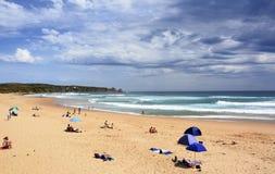 "Phillip Island Australien †""Januari, 2016 Woolamai strand på Phillip Island Arkivfoto"