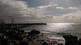 Phillip Island. Coast bay jetty Stock Photos