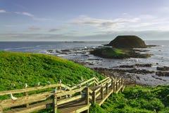 Phillip Island-horizon royalty-vrije stock foto