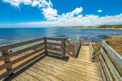 Phillip Island Walkway Immagine Stock