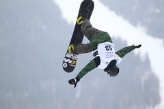 Phillip Kundratitz - slopestyle Immagine Stock