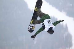 Phillip Kundratitz - slopestyle Stock Image