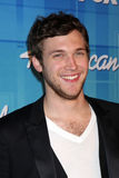 Phillip Phillips -  Winner of Season 11 American Idol in the Press Room of the  Stock Photos