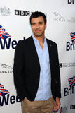 Phillip Rhys. LOS ANGELES - APR 26:  Phillip Rhys arriving at the 5th Annual BritWeek Launch Party at British Consul General's residence on April 26, 2011 in Los Royalty Free Stock Image