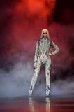 Phillipe Blond camina la pista durante Blonds febrero de 2017 Fotografía de archivo libre de regalías