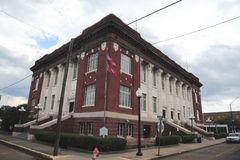 Phillips County domstolsbyggnad i Helena-västra Helena, Arkansas arkivfoton