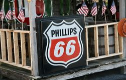 Phillips 66 Gas Company. Phillips 66 Gas Station and convenience store Royalty Free Stock Image