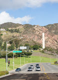 Phillips Theme Tower at Pepperdine University Stock Photos