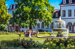 Phillipsruhe Castle in Hanau, Germany Stock Photos