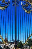 Phillipsruhe kasztel na bankach Rzeczna magistrala w Hanau, Niemcy zdjęcia stock