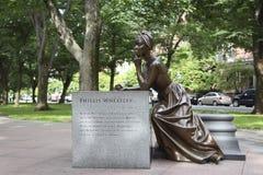 Phillis Wheatley Statue Stock Photo