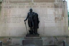 philly乔治・华盛顿纪念品 免版税库存照片