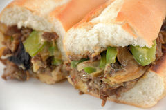 Philly Cheese Steak Stock Image