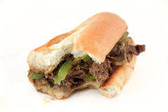 Philly Cheese Steak Royalty Free Stock Photos