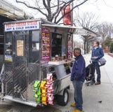 Philly Cheese Steak - street sale - PHILADELPHIA - PENNSYLVANIA - APRIL 6, 2017 Stock Photography