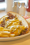 Philly Cheesesteak Royalty Free Stock Photography