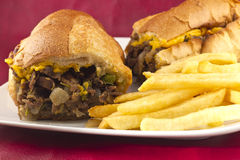 Philly Cheesesteak Royalty Free Stock Photo