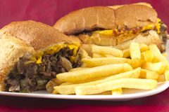 Philly Cheesesteak Royalty Free Stock Images