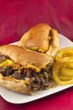 Philly Cheesesteak Stock Photography