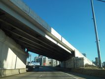 Philly. Drive home to Philly Royalty Free Stock Photography
