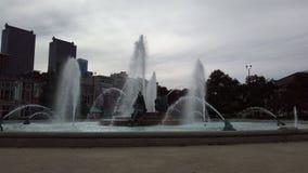 Philly fountian fotografie stock libere da diritti
