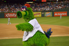 Philly Phanatic Photographie stock libre de droits