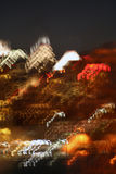 Philly Skyline Abstract. Abstract of Philadelphia, PA night skyline royalty free stock images