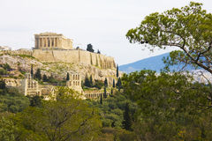 Philopappos Hill, Athens, Greece Stock Photos