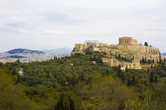 Philopappos Hill, Athens, Greece Royalty Free Stock Photo