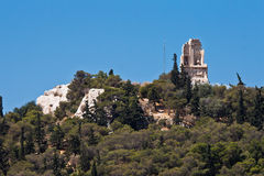Philopappos Monument Athens Greece Stock Images