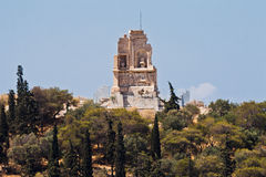 Philopappos Monument Athens Greece Royalty Free Stock Photography