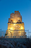 The Philopappos Monument. Athens, Greece. royalty free stock photo